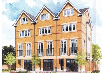 6 townhouses, Swan Mews, South Croydon